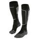Falke SK2 Skiing Miehet sukat , harmaa/musta